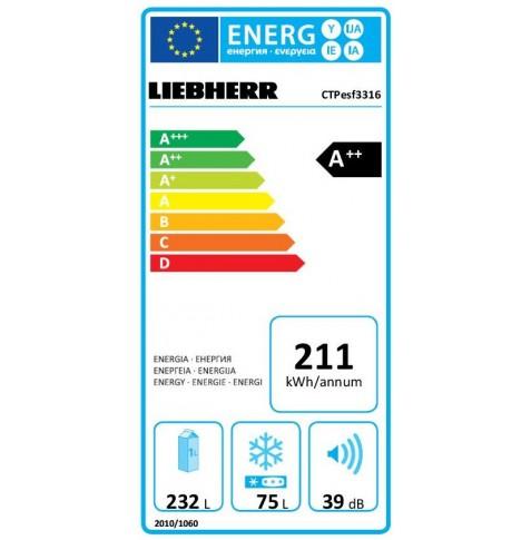 Frigorifico LIEBHERR CTPESF3316