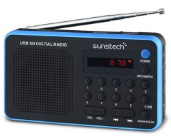 Audio Porttil SUNSTECH RPDS32BL