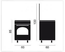 Cocina VITROKITCHEN RU6060B