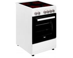 Cocina Vitrocermica TEKA FS5024VEWH Vitro Blanco